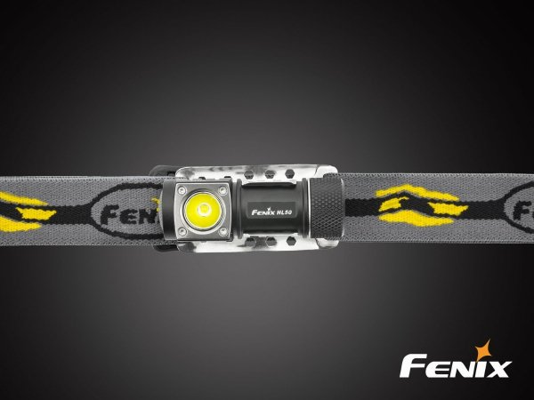Latarka diodowa Fenix HL50 czołówka