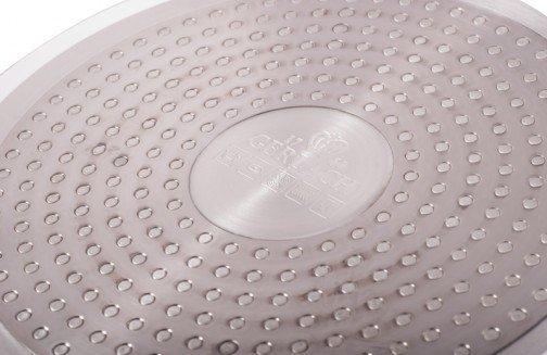 Patelnia ceramiczna Gerlach Harmony 24 cm z pokrywką