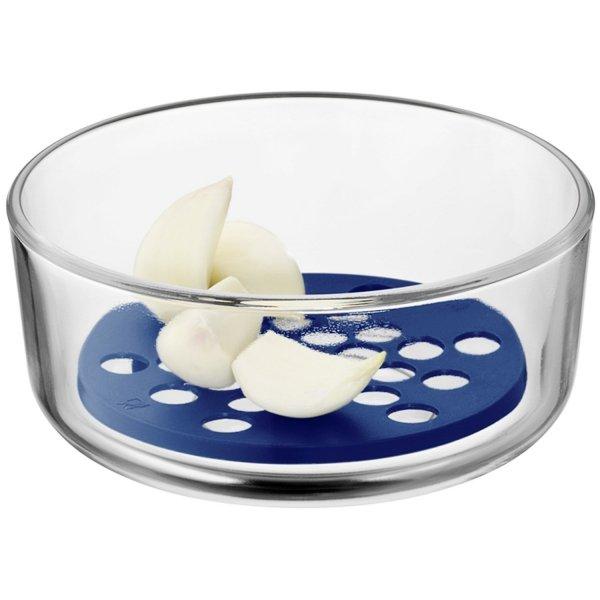 WMF - Misa szklana na owoce z separatorem 13cm