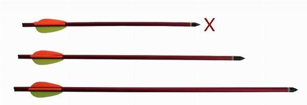 "Bełty Poe Lang 6 sztuk 14"" aluminiowe czerwone"