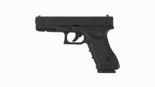Pistolet wiatrówka Glock 17 blowback 4.5 mm BB CO2
