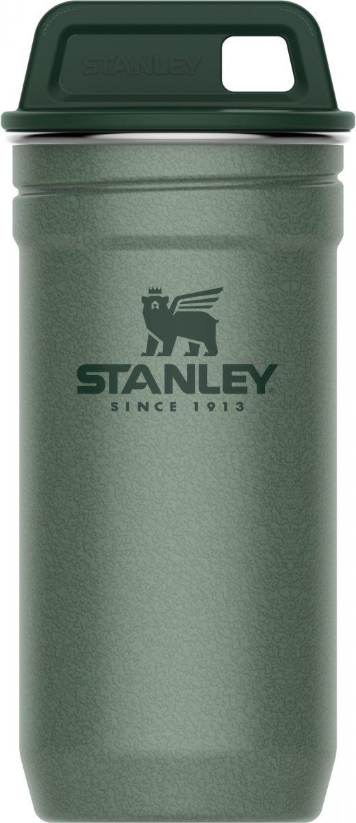 Kieliszki stalowe w etui ADVENTURE - zielony 4 x 60ml / Stanley