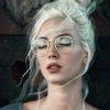 Bella - Okulary Zerówki - Złote