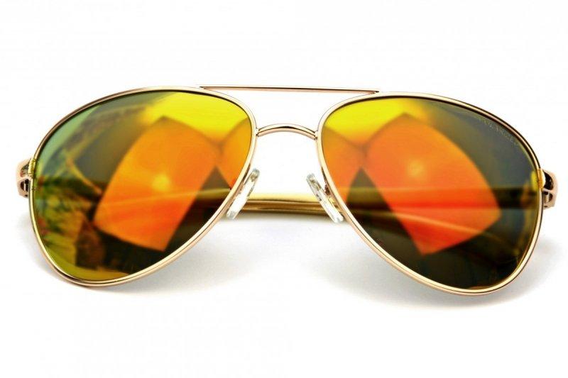V.I.P - Okulary Polaryzacyjne - Złote