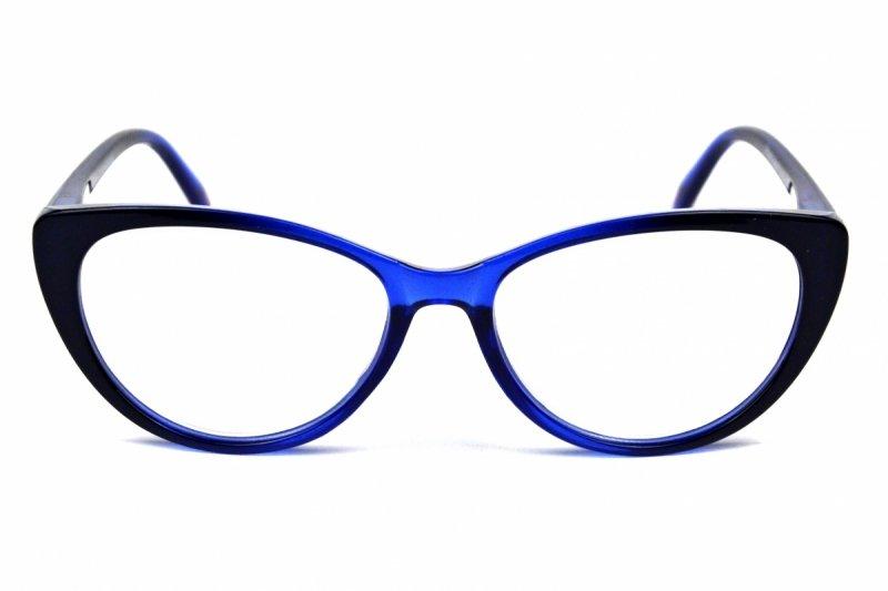 Betty +1,5 - Okulary Korekcyjne - Niebieskie