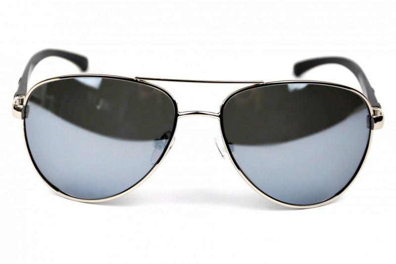 Texas - Okulary Polaryzacyjne - Srebrne