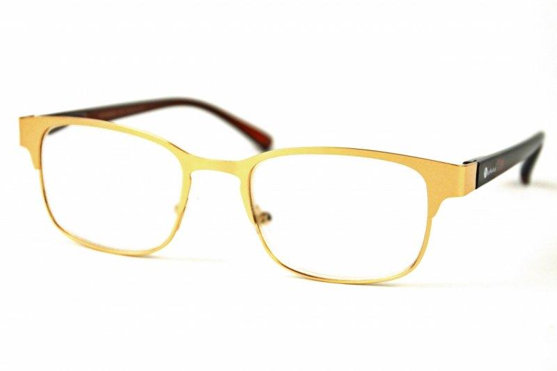 Gold Metal +3,5 - Okulary Korekcyjne
