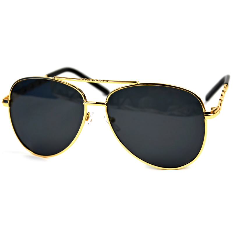 Gold Card - Okulary Polaryzacyjne - Czarne