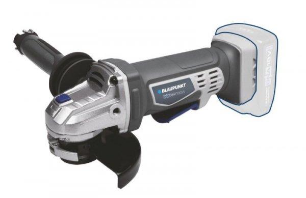 Szlifierka kątowa akumulatorowa, BP5972 BTO  Prędkość bez obciążenia 10.000 obr/min  Tarcza 115mm ?  Szybka wymiana tarczy  2-pozycyjny, antywibracyjny uchwyt z kluczem  Bez narzędziowa regulacja osłony tarczy  2-punktowy wyłącznik bezpieczeństwa