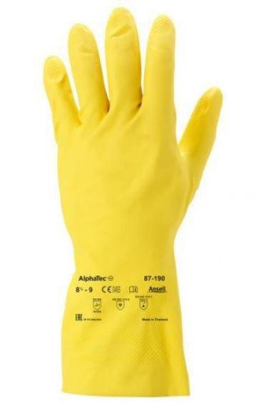 RĘKAWICE GUMOWE ANSELL ALPHATEC 87-190 ROZMIAR L