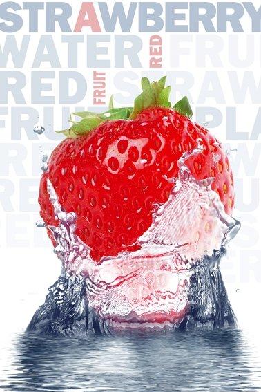 Truskawka - Strawberry  - plakat