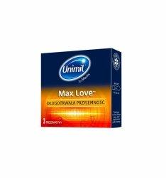 Unimil Max Love (1op./3szt.)
