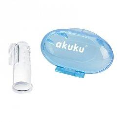 Szczoteczka silikonowa blue