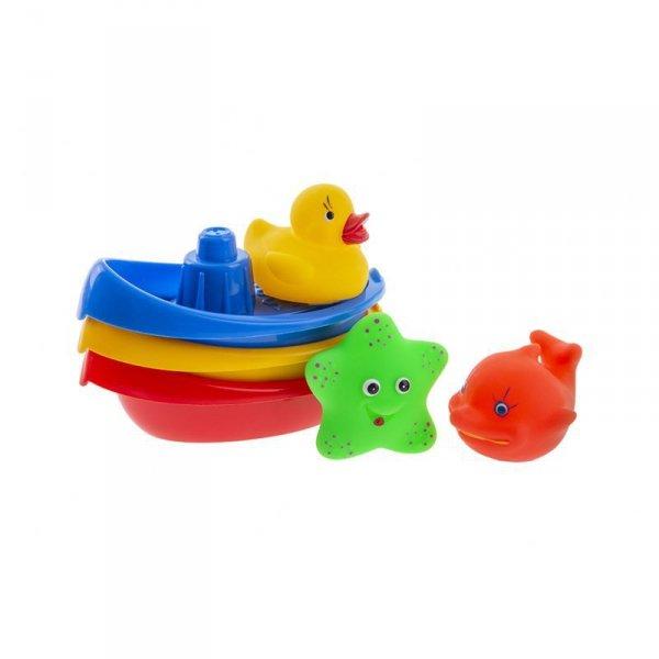 Łódeczki do kąpieli ze zwierzątkami