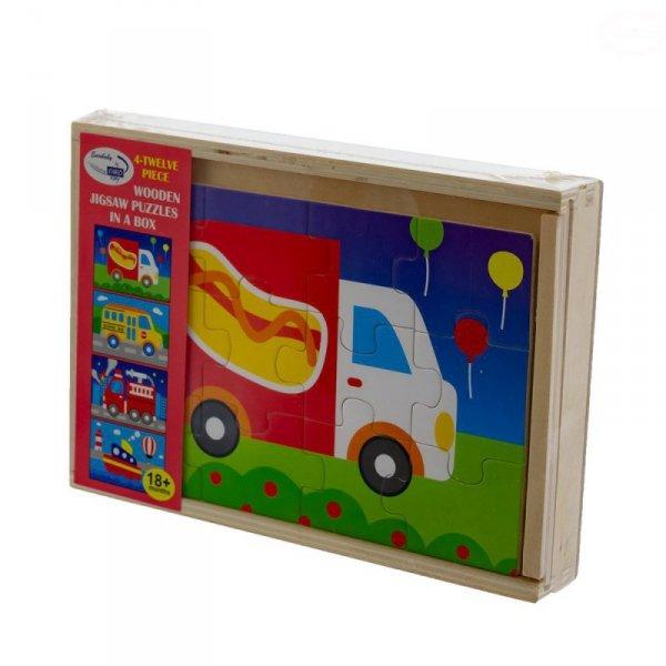Zab puzzle traffic 4 in 1