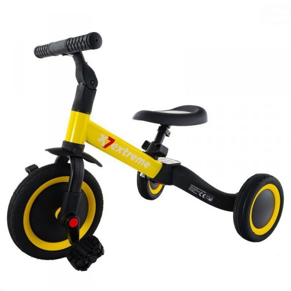 Rower 4w1 tr001 yellow