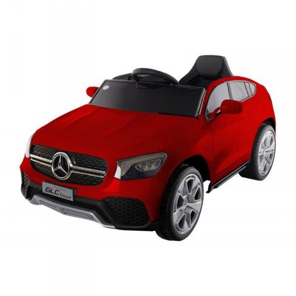Pojazd merc glc coupe red