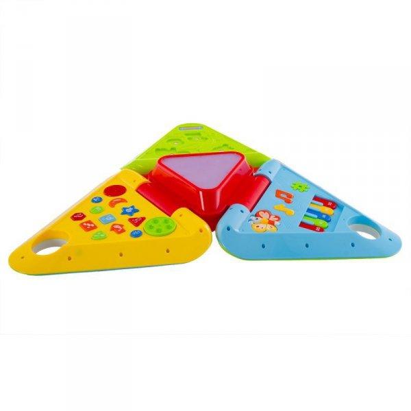 Zabawka trójkątny domek