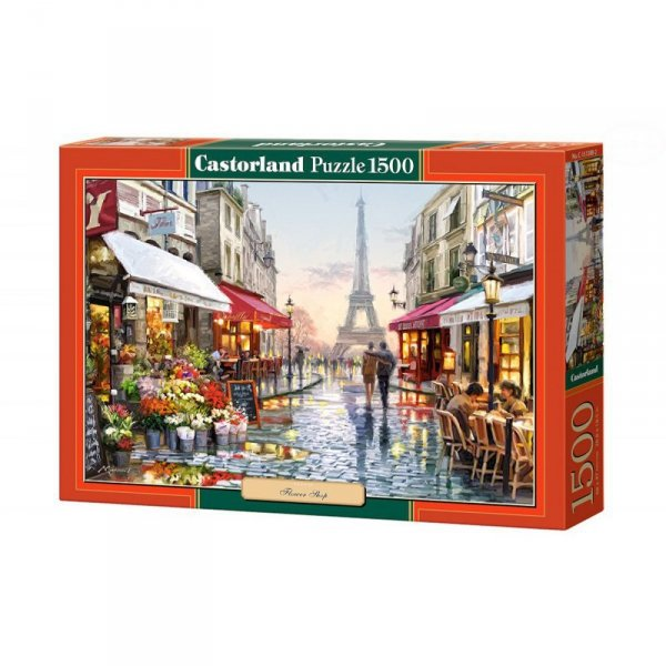 Puzzle flower shop 1500