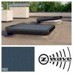 Fakro Markiza AMZ/C Z-Wave do okien do płaskiego dachu – grupa II, przeznaczona do okien Typu C, materiał z 1% prześwitem względnym
