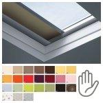 Fakro roleta zaciemniająca do dachów płaskich ARF/D grupa cenowa II, przeznaczone do okien typu F, C oraz G manualna
