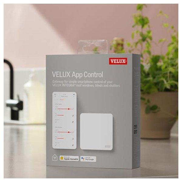 System sterowania Velux App Control KIG 300 do kontroli produktów INTEGRA® za pomocą telefonu