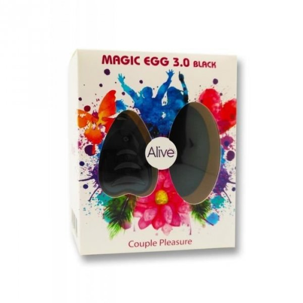 Egg Remote control Black AAA 3,0