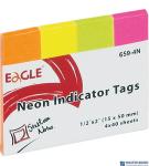 Notes sam.-zakł.15x50 659-4N EAGLE  150-1244  4kol.neon