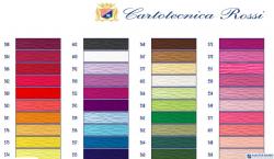 Bibuła karbowana, włoska gruba 180g jasnoniebieski 559 Cartotecnica Rossi