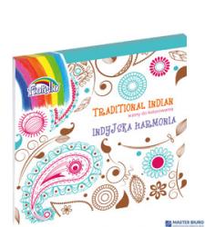 Książka do kolor. FiorelloTRADITIONAL INDIAN 150-1387 KW TRADE