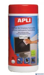 Chusteczki do czyszczenia ekranów APLI (11823) 100szt