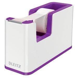 Podajnik taśmy klejącej Leitz WOW, fioletowy 53641062