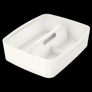 Organizer MyBOX duży z uchwytem biały LEITZ 53220001
