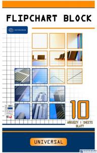 Blok do flipcharta 10k kratka 100x64 INTERDRUK