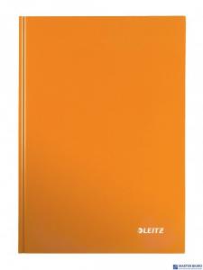 Brulion w kratkę A4 LEITZ WOW pomarańczowy 46261144