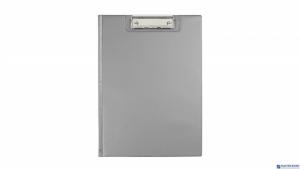 Teczka z klipsem A4 silver BIURFOL KKL-04-01
