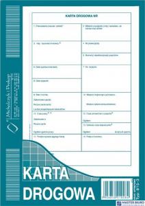 815-3 Nowa KD Karta Drogowa A5 MICHALCZYK I PROKOP