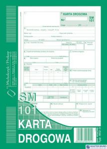 802-3N Karta drogowa MICHALCZYK&PROKOP A5 80 kartek