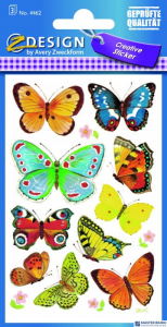 Naklejki ZF Motyle        4462 Z-DESIGN CREATIVE