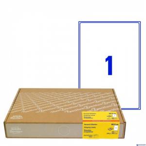 (WYCOFANE) Etykiety wysyłkowe AVERY ZWECKFORM 8019-300 arkuszy 1996x2891mm (X)