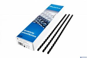 Grzbiet do bindowania DATURA 22mm (50szt) czarny