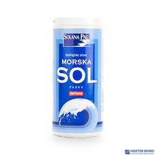 Sól morska 250g solniczka