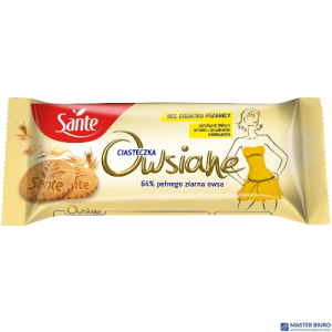 Ciasteczka owsiane naturalne SANTE 138g