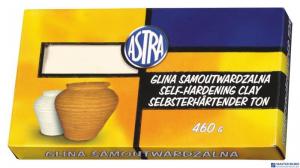 Glina samoutwardzalna terakota 0.46kg ASTRA   83810909