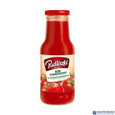 Sok pomidorowy PUDLISZKI ze świeżych pomidorów 290ml