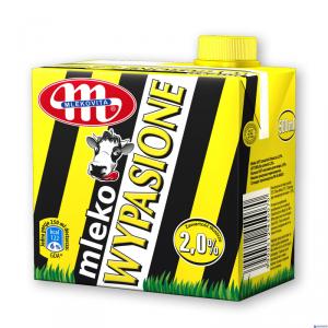 Mleko MLEKOVITA WYPASIONE UHT 2% 0,5l