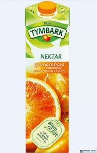 Sok TYMBARK z czerwonych pomarańczy sycylijskich 1L