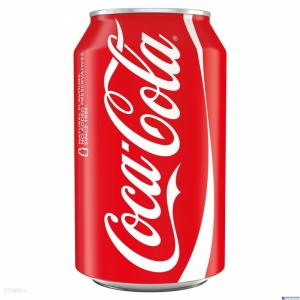 Napój COCA COLA 0.33l PUSZKA