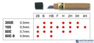 Grafity 0.3mm B         PENTEL