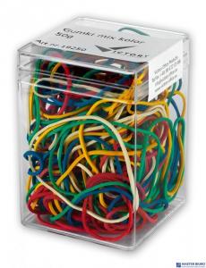 Gumki recepturki VICTORY mix kolor 50g plastikowe pudełko VO26H50G-99